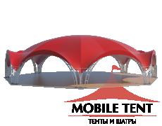 Арочный шатёр 26х24 — 460 м² Схема 2