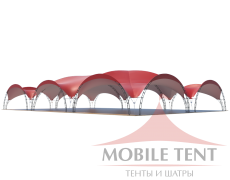Арочный шатёр 30х20 — 600 м² Схема 3
