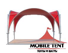 Арочный шатёр 3,5х3,5 — 12,25 м² Схема 1