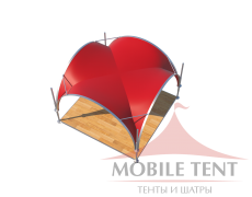 Арочный шатёр 3.5х3.5 — 12,25 м²(V) Схема 4