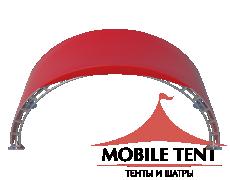 Арочный шатёр 8х3 — 24 м² Схема