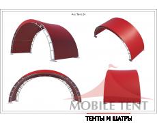 Арочный шатёр 8х3 — 24 м² Схема 5