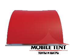 Арочный шатёр 8х4 — 32 м² Схема 2