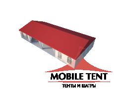 Классический шатёр 10х20 Схема