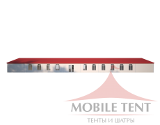 Классический шатёр 10х35 Схема 3