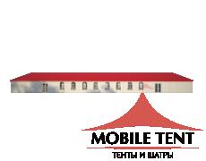 Классический шатёр 15х40 Схема 3