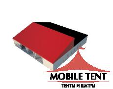 Классический шатёр 25х25 Схема