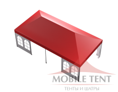 Мобильный шатёр Hard Prof 4х8 Схема 4