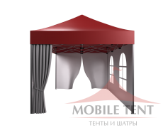 Мобильный шатёр Prof 3х4.5 Схема 1