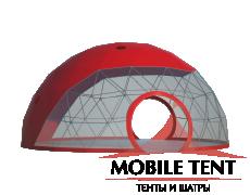 Сферический шатер диаметр 10 м Схема 2