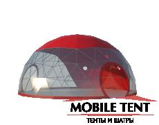 Сферический шатер диаметр 10 м Схема 1