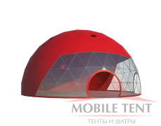 Сферический шатер диаметр 16 м Схема 2