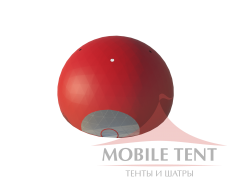 Сферический шатер диаметр 35 м Схема