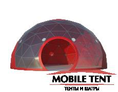 Сферический шатер диаметр 8 м Схема 3