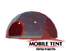 Сферический шатер диаметр 8 м Схема 1