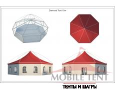 Шестигранный шатёр Лондон (Диаметр 15 м) Схема 5