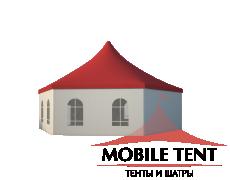 Шестигранный шатёр Стандарт (Диаметр 12 м) Схема 1