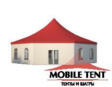 Шестигранный шатёр Стандарт (Диаметр 15 м) Схема 3