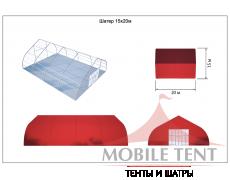Тентовый ангар 15х20 Схема 5