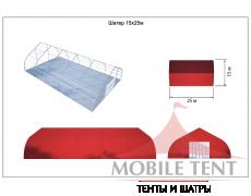 Тентовый ангар 15х25 Схема 5