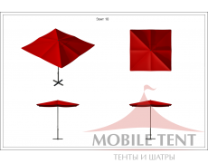 Зонт Desert 3х3 Схема 1