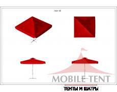 Зонт Premium 5x5 Схема 1