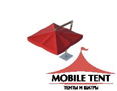 Зонт Premium Side 3х3 Схема