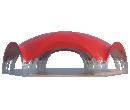 Арочный шатёр 18х15 — 241 м² Схема 2