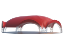 Арочный шатёр 21х16 — 336 м² Схема 3