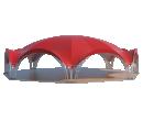 Арочный шатёр 21x19 м Схема 2