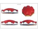 Арочный шатёр 21x19 м Схема 5