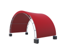 Арочный шатёр 6х3 — 18 м² Схема 3