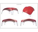 Арочный шатёр 8х8 — 64м²(V) Схема 5