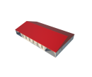 Классический шатёр 15х25 Схема