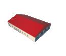 Классический шатёр 20х30 Схема