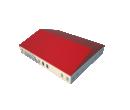 Классический шатёр 25х30 Схема