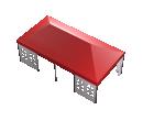 Мобильный шатёр Slim Prof 4х8 Схема 4