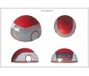 Сферический шатер диаметр 10 м Схема 5