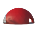 Сферический шатер диаметр 20 м Схема 1