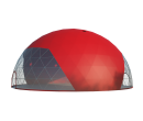 Сферический шатер диаметр 25 м Схема 2