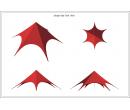 Шатёр Звезда (Диаметр 16 м) Схема 5