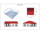 Шатёр для мероприятий 10x10 м Схема 5