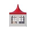 Шатёр Пагода Римини 3х3 Схема 1