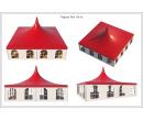 Шатёр Пагода Стандарт 10х10 Схема 4